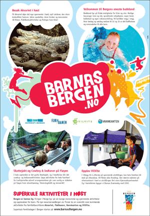 Faksimile av Barnasbergen-annonse.
