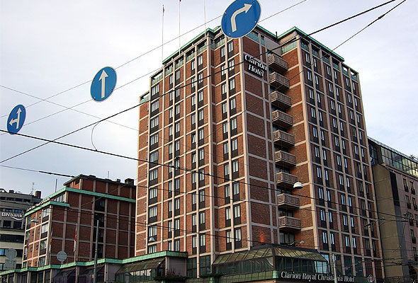 Clarion Hotel Royal Christiania. Fotograf: Bjrn Erik Pedersen/Wikimedia Commons