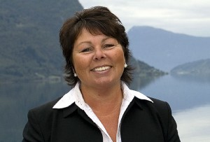 Wenche Nygård Eeg, adm. dir. i Cruise Norway.