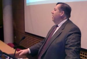 Bob Gilbert, president og CEO i HSMAI Global. Mobilfoto: Jarle Petterson