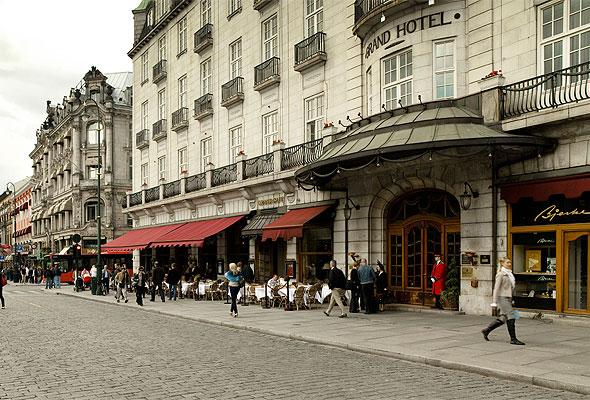 Grand Hotel på Karl Johan i Oslo (foto fra Grand Hotel)
