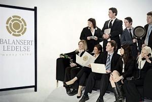 Styret i Serviceforum 2010 er klar til åpningen av konferansen i mars.
