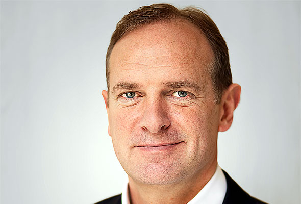 Foto: Franks Fiskers, konsernsjef i Scandic Hotels. Fotograf: bsmart