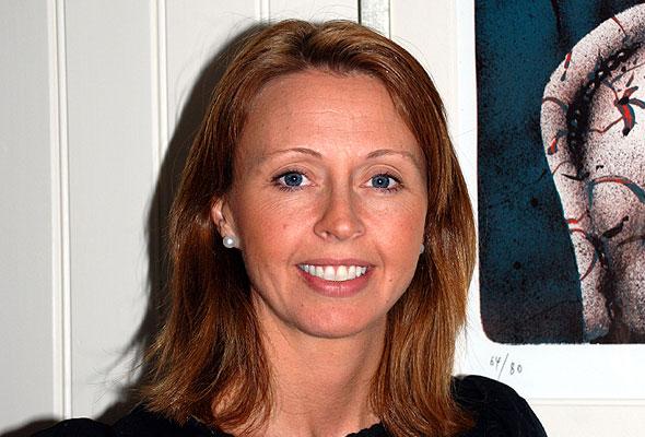 Harriet Hestad, salgsjef ved Britannia Hotel i Trondheim.