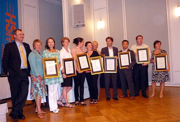 Serviceløftet-vinnerne 2009