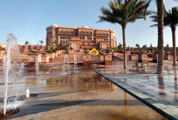 Emirates Palace i Abu Dhabi