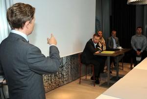 Frokostmøtet i Oslo onsdag 8. september 2010. Foto: Reiselivsavisen