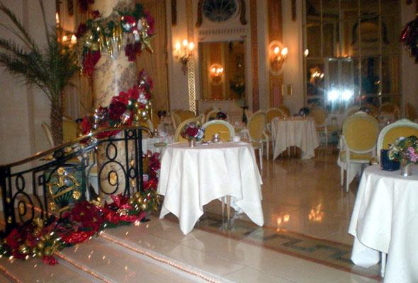 Et julepyntet Ritz