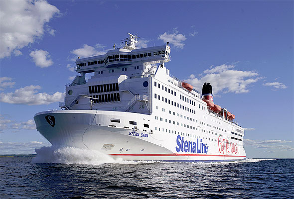 Stena Saga (foto fra Stena Line)