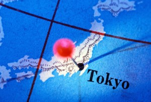 Kart over Japan