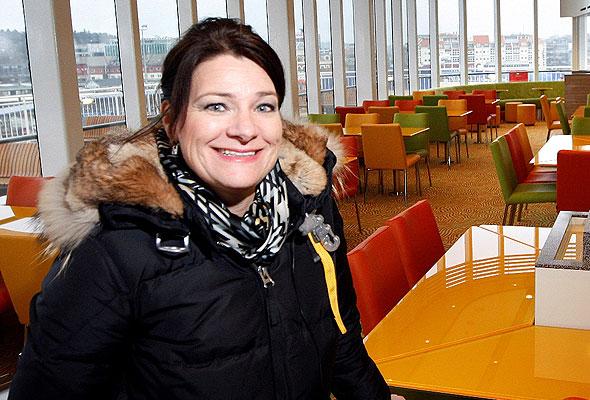 Nina Moland Iversen, salgs- og markedssjef i Color Line SuperSpeed