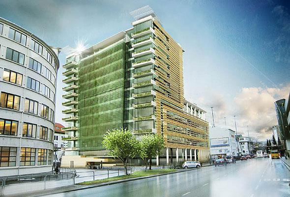 OBOS' og Ricas nye hotell, som skal stå klart i Bergen i 4. kvartal 2013