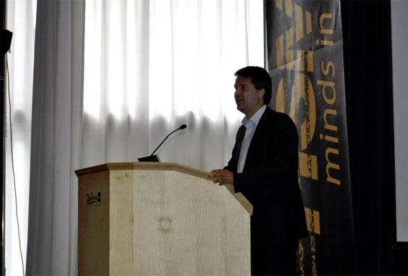 Michael Zetterlund på HSMAI GM Forum 2011.