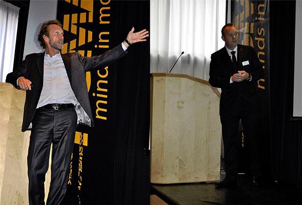Harald Magnus Andreassen og Per Anders Perra Pettersson på HSMAI GM Forum 2011.
