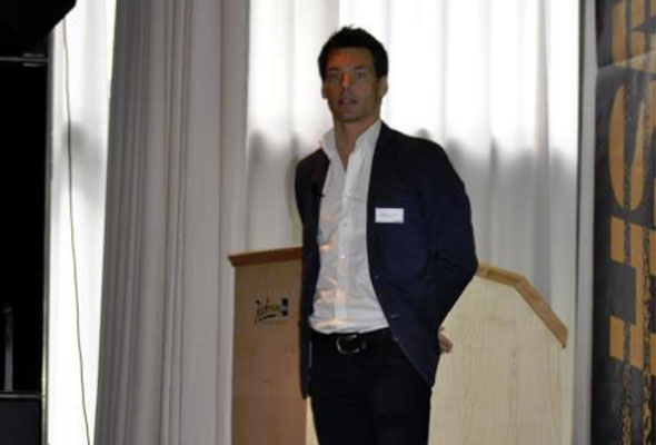Anders Buchardt på HSMAI GM Forum 2011.