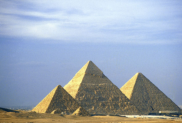 Egyptiske pyramider (foto fra Star Tour/TEMA)
