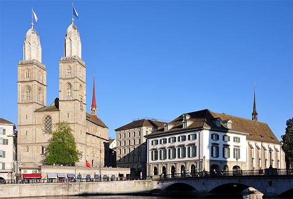 En idyllisk scene fra Zürich. Fotograf: Roland zh/Wikimedia Commons