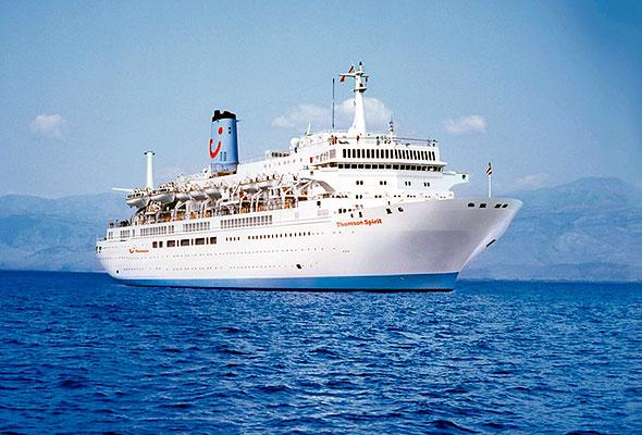 Cruiseskipet Thomson Spirit (foto fra Fritidsresor/Star Tour)