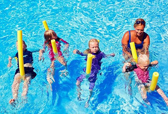 Svømmeskole på Atlantica Creta Paradise Fotograf: Marcus Lawett/Star Tour