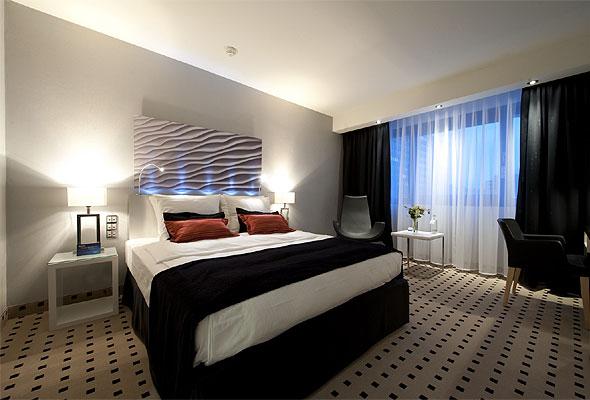 Et av de nye rommene på Radisson Blu Scandinavia Hotel i København