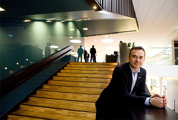 Direktør Wendel Holdener i Scandic Oslo Airport. Fotograf: Johnny Syversen