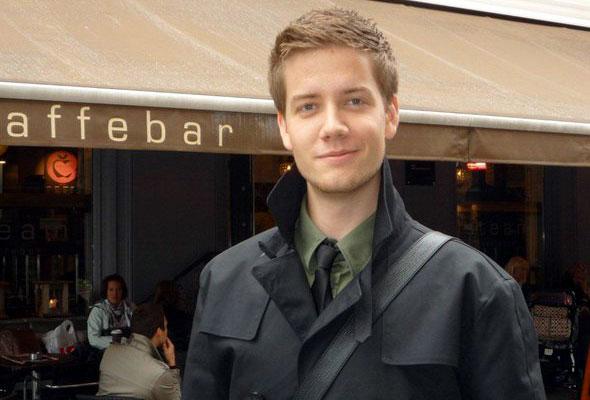 Hans Agdal Stenseng, leder i HSMAI Student