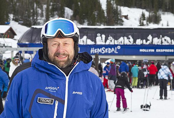 Trond H. Østby, destinasjonssjef, Skistar Norge AS / Hemsedal