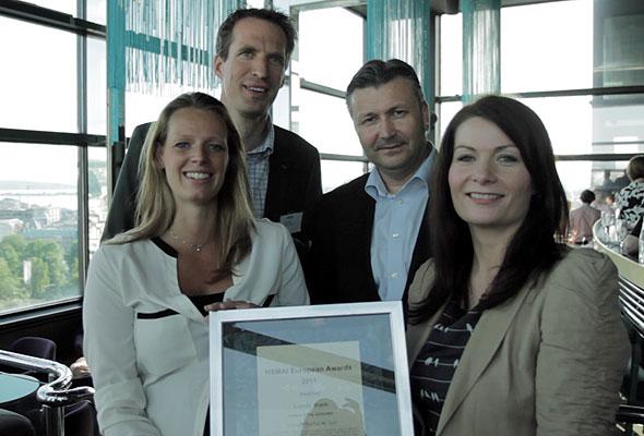 Scandic Hotels Norway med sitt diplom i Oslo torsdag 24. mai 2012. Fotograf: Catharina Wandrup