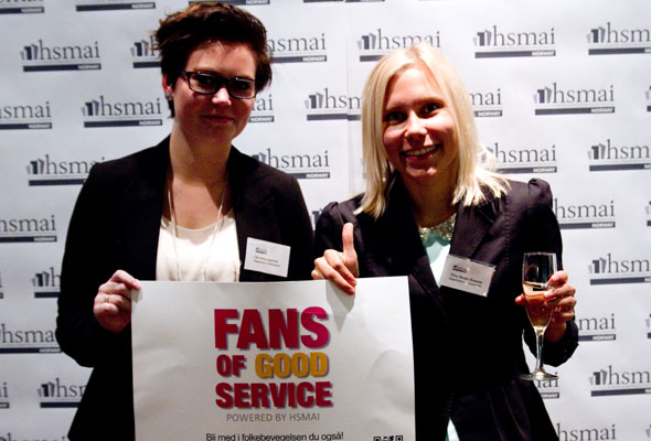 Christina + 1, fans of good service