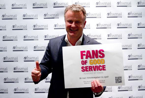 Fredrik Utheim. Fans of good service