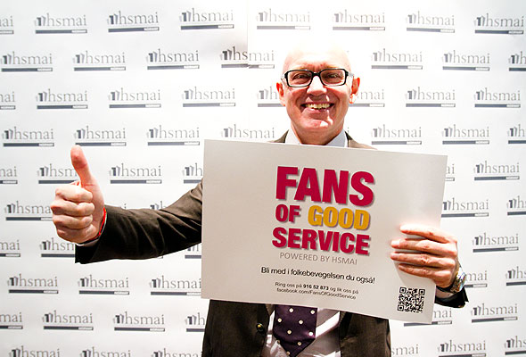Gary White. Fans of good service