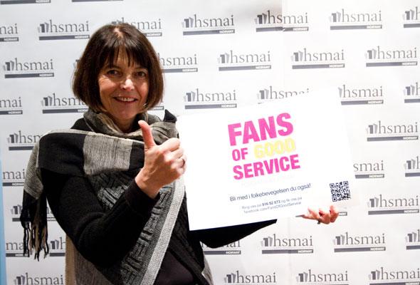 Marith Loen. Fans of good service