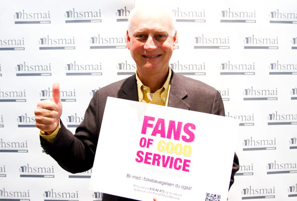 Mr Wolf. Fans of good service