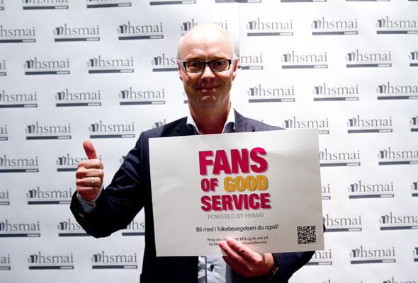 Pål Vibe. Fans of good service
