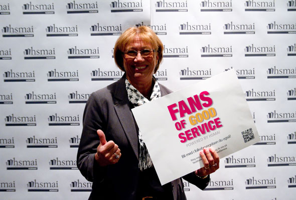 Sidsel Håvardtun. Fans of good service