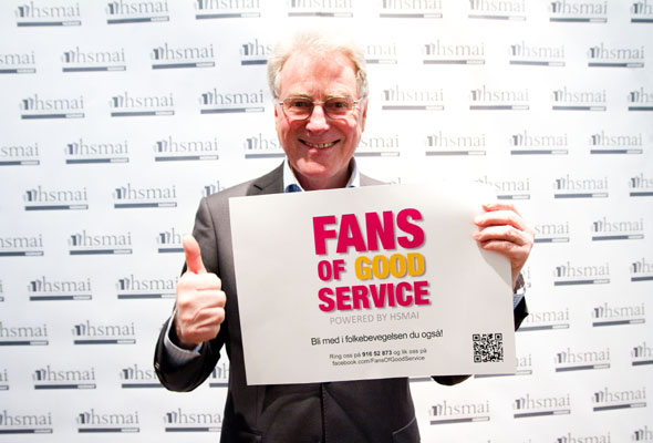 Tor Sannerud. Fans of good service