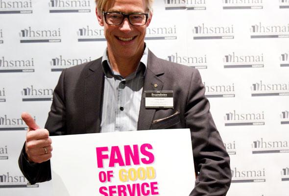 Ukjent med briller. Fans of good service