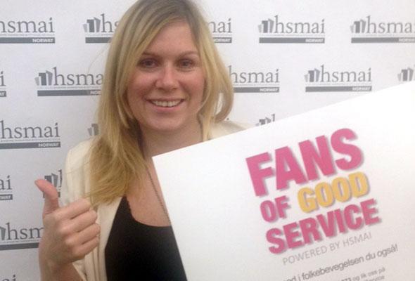 Vibeche Isachsen. Fans of good service