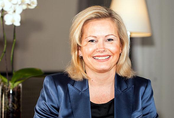 Fredrikke Næss, administrerende direktør ved Grand Hotel i Oslo. Foto fra Rica Hotels