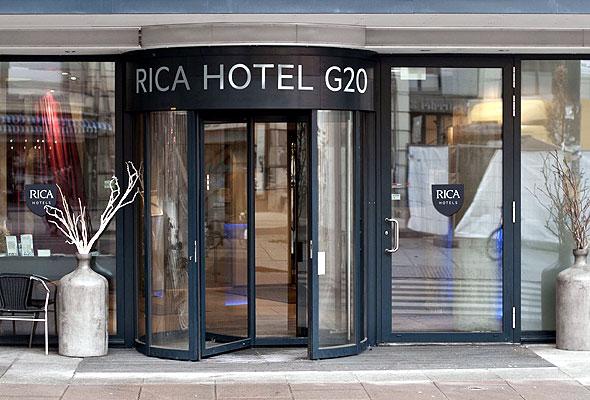 Rica Hotel G20 i ny drakt. Foto fra Rica Hotels