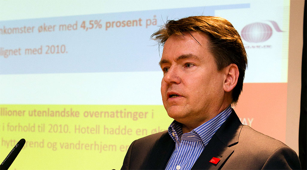 Reiselivsdirektør Per-Arne Tuftin i Innovasjon Norge. Fotograf: Christian T. Jørgensen / EUP-Berlin.com