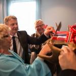 Åpning Rica Elgstua - fv Hellwege Tømte og Hanstad