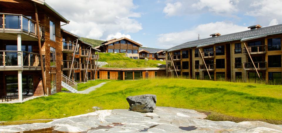 Quality Spa & Resort Norefjell sommerstid (foto norefjellsparesort.no)