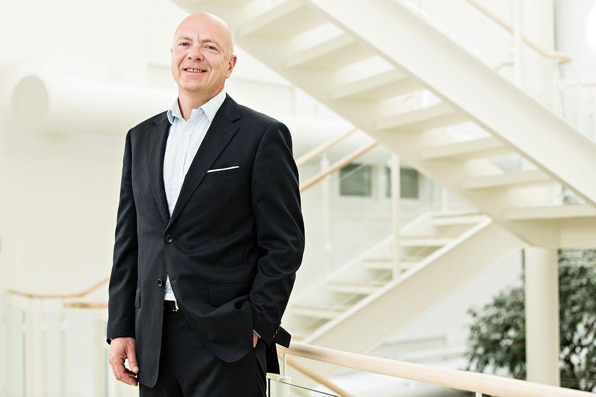Per Arne Villadsen, administrerende direktør i Berg-Hansen (foto fra Berg-Hansen).