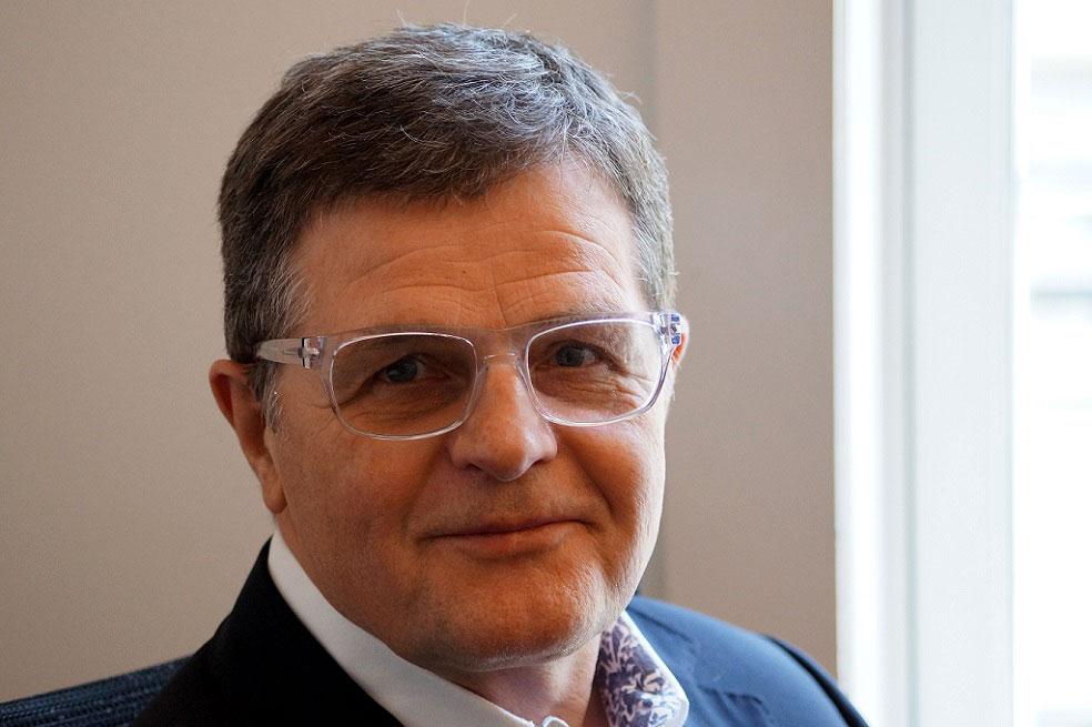 Asmund Haare, grunnlegger av og styreleder i Flying Elephant.