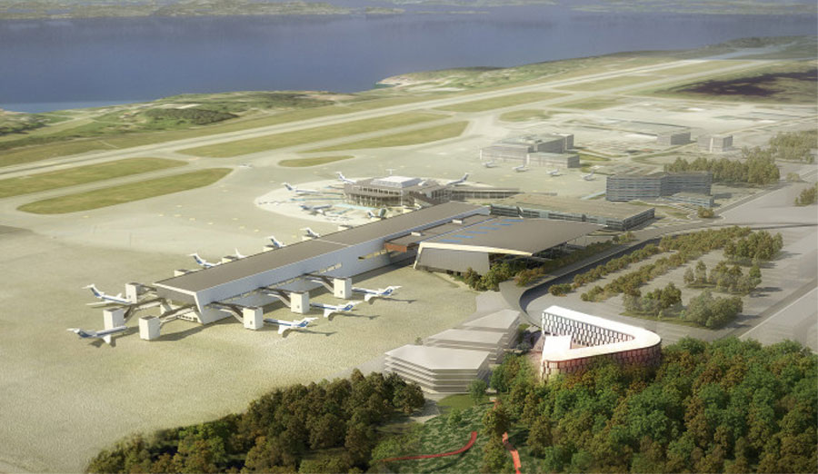Comfort Hotel Bergen Airport. Foto fra Nordic Choice Hotels.
