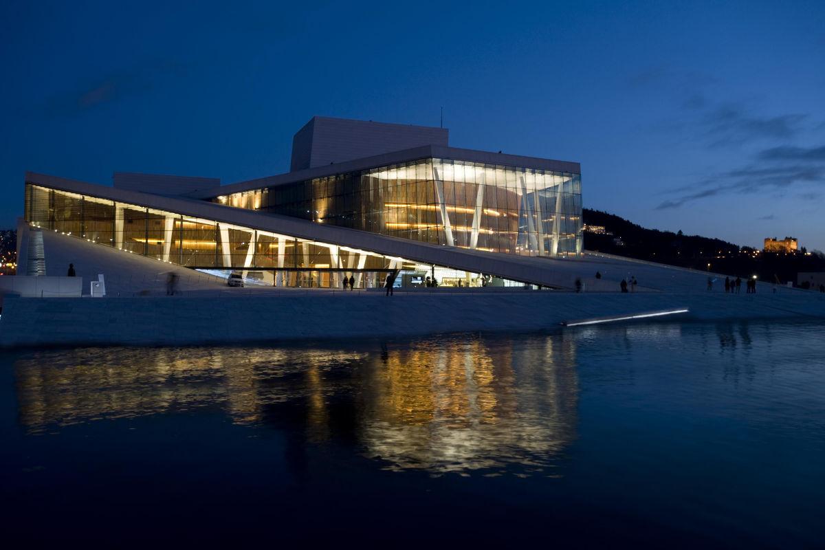 Operaen i Bjørvika. Fotograf: Erik Berg.