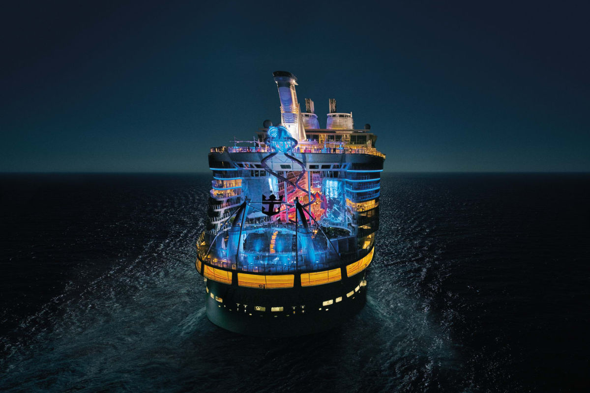 "RCCLs ""Symphony of the Seas"". Foto fra Royal Caribbean."
