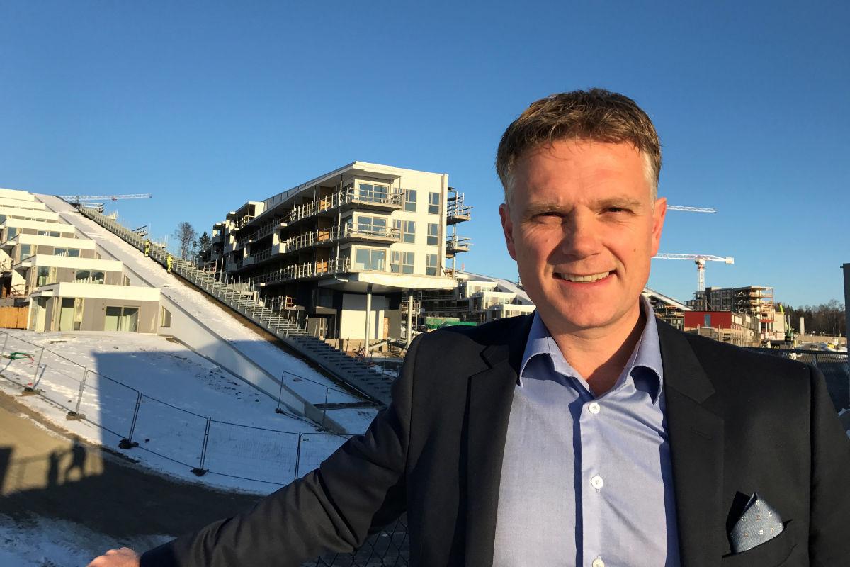 Tore Jørgensen, administrerende direktør i Oslofjord Conference Center. Foto fra OCC.