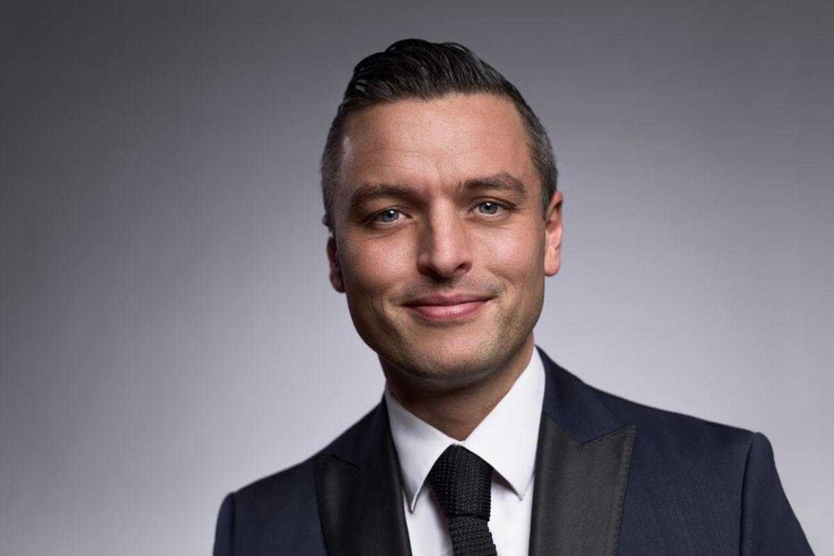 Wilhelm Hartwig blir Amerikalinjens hotelldirektør. Fotograf: Marcin Ptak.